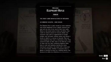 Ружье на слона в Red Dead Online - как разблокировать, цена, улучшения, где искать боеприпасы