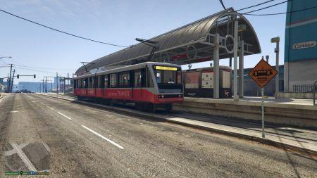 Исследуем метро в GTA 5