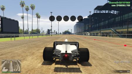 Как создать свою гонку на болидах в GTA Online