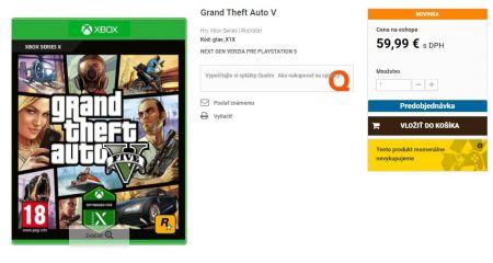 Открыт предзаказ на GTA 5 для PS5. Игрокам предстоит раскошелиться
