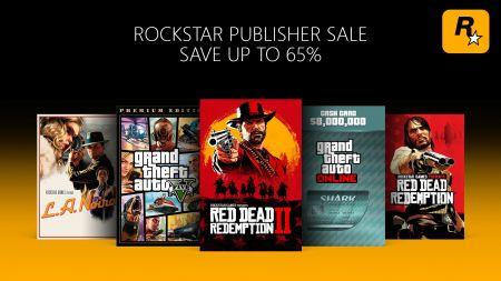 Большие скидки на GTA 5 и RDR 2 для Xbox на этой неделе