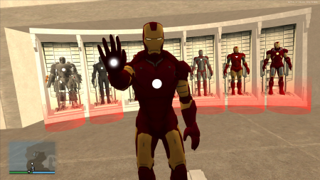GTA Iron Man: New version of the best mod about Tony Stark released