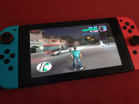 GTA Vice City can now be launched on Nintendo Switch