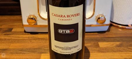 GTA 2 themed wine bottle shown by a Rockstar developer