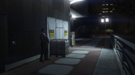 GTA Online had a possible winter update teased in game