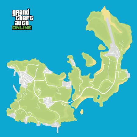 GTA Online fans compared new location to Pablo Escobar's island and drawn a map's concept