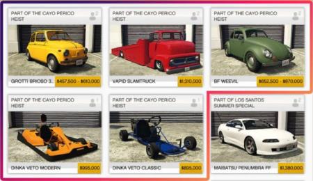 Фанат GTA Online рассказал про недоступную для игроков технику из обновления The Cayo Perico heist