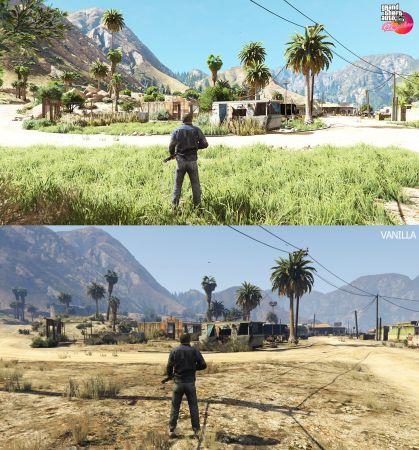 GTA 5 Remake  — большой графический мод в раннем доступе