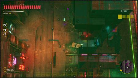 Показан геймплей новой игры в стиле GTA 2 и Cyberpunk 2077