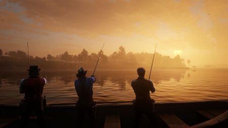 Red Dead Online: бонусы для натуралистов и рыбаков