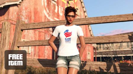 В GTA Online День независимости: тройные бонусы в режимах, скидки на орудия разрушения, фейерверки и технику