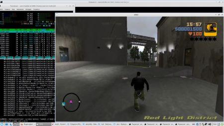 GTA Vice City и GTA 3 запустили на российском процессоре Байкал
