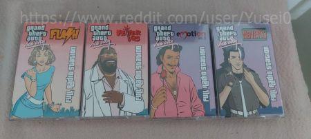 Фанат GTA Vice City создал музыкальные кассеты с игровым радио и слушает их на магнитофоне