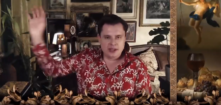 Евгений Понасенков, Виктор Пелевин и Джейсон Стэтхэм — случайный косплей на героев GTA