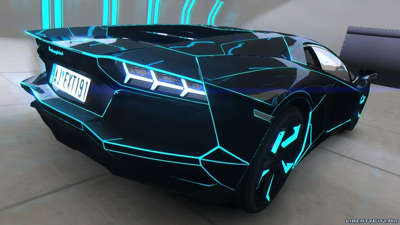 tron lamborghini aventador hd wallpapers driverlayer. Black Bedroom Furniture Sets. Home Design Ideas