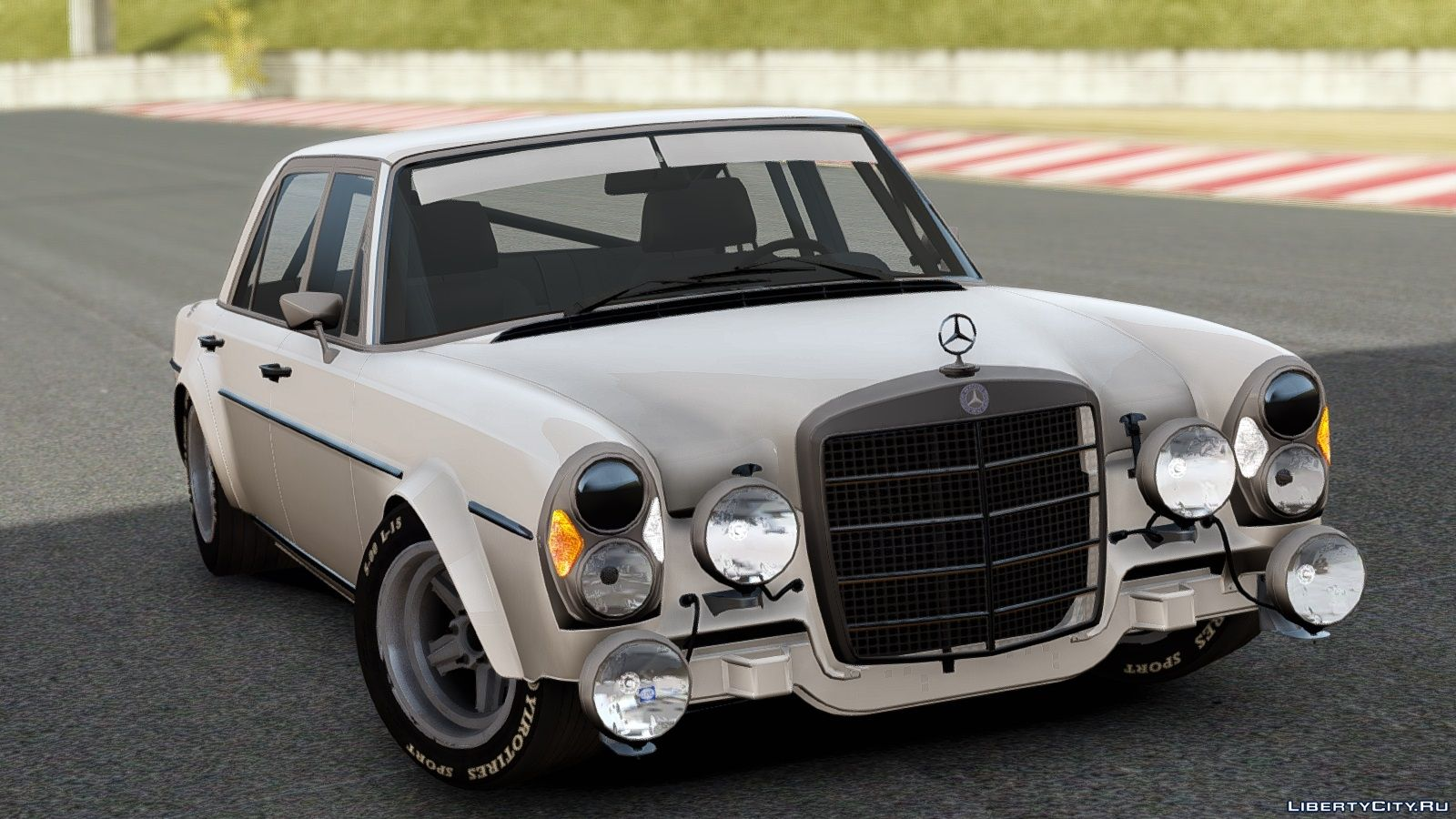 Mercedes benz 300 sel 6 8 amg w109 gta 4 for Mercedes benz amg 6 3