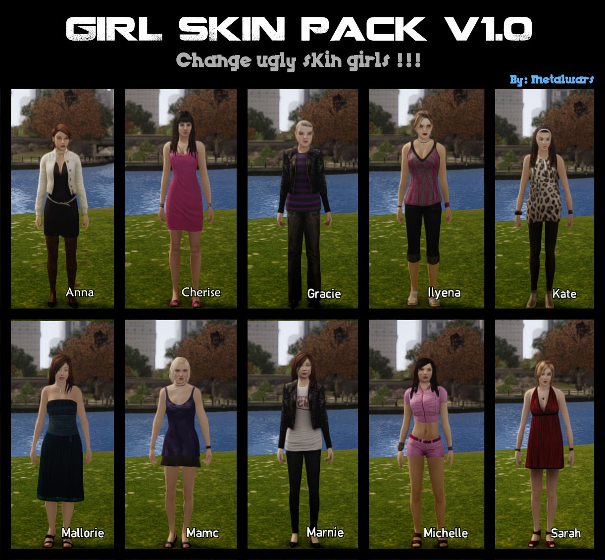 Artificial girl 3 skin mod download cartoon scene