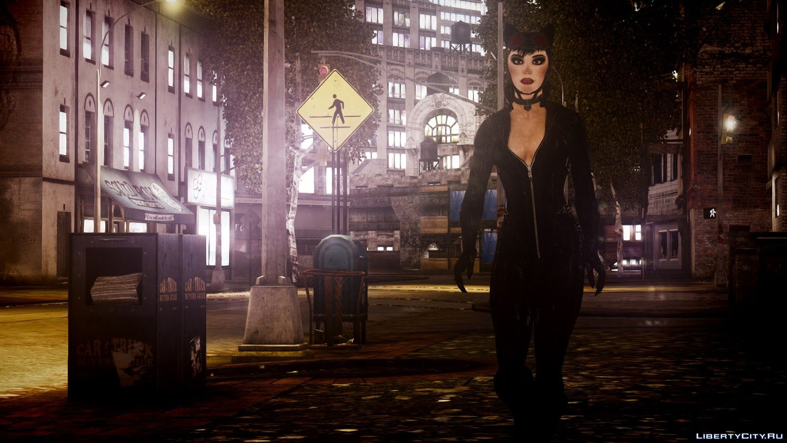 Arkham city cat woman mod hentia scenes