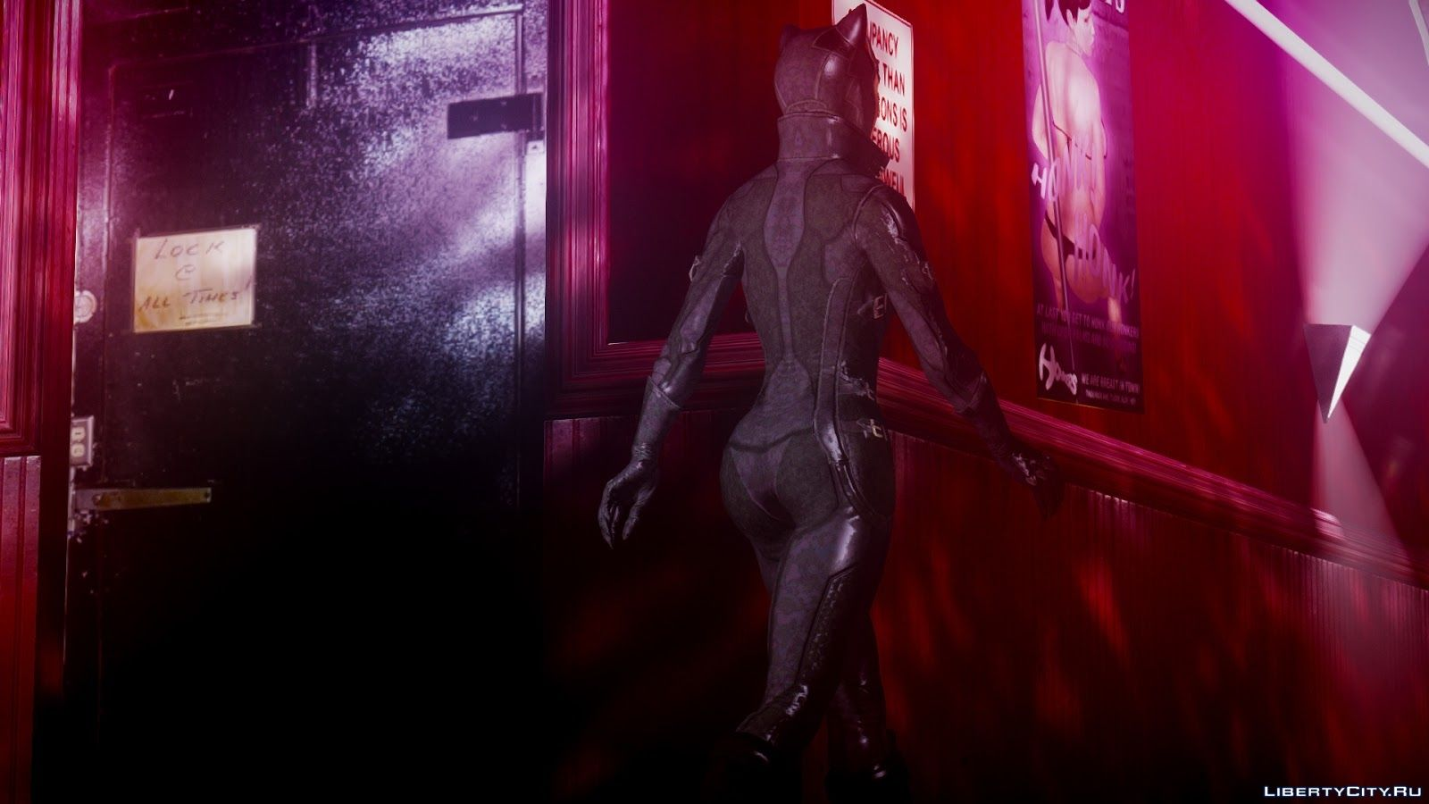 Arkham city cat woman mod nude picture