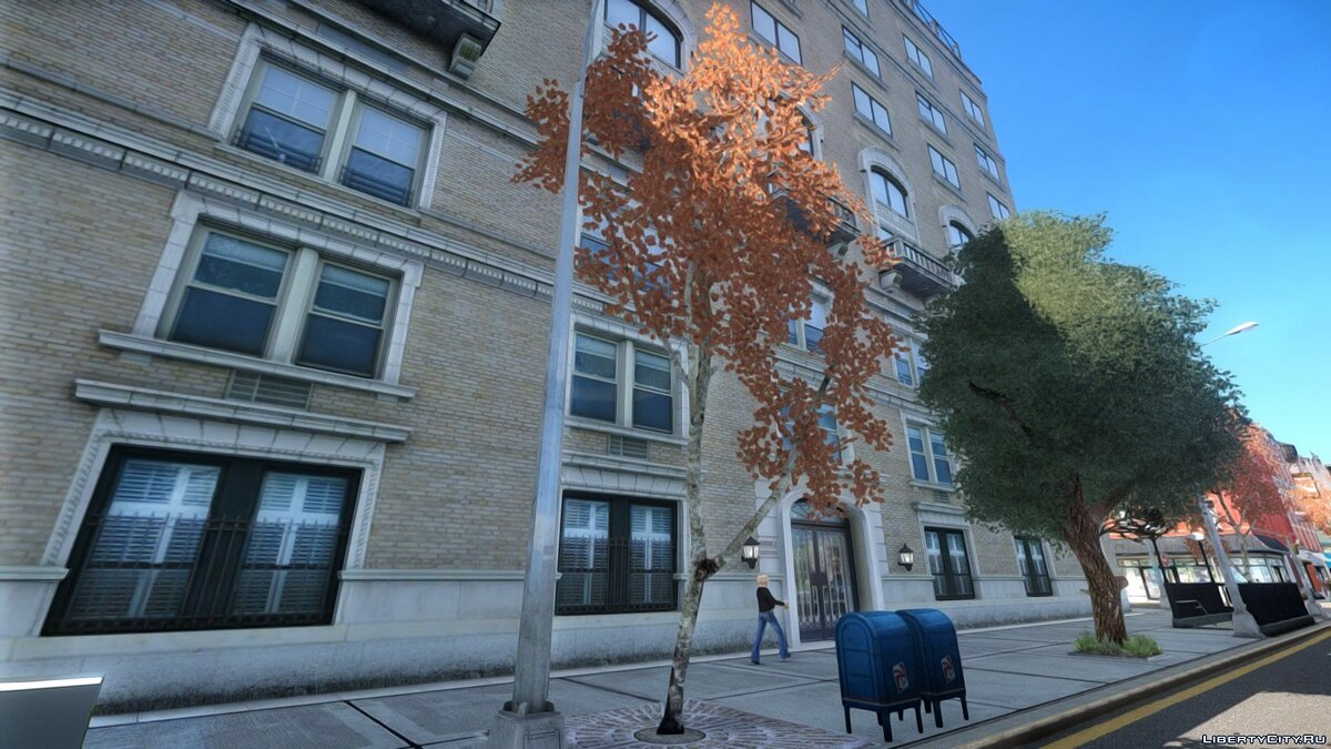 ���������� ��� Autumn Trees by Compotik ��� GTA 4