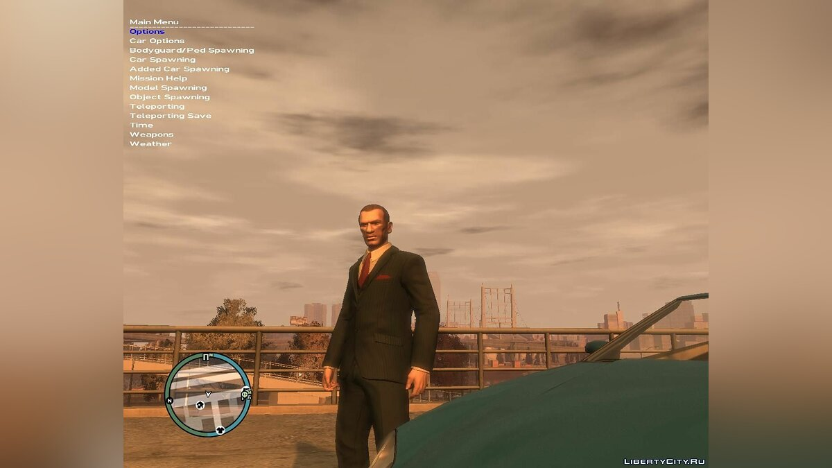 ������� Simple Native Trainer v6.5 EN (�����������) ��� GTA 4