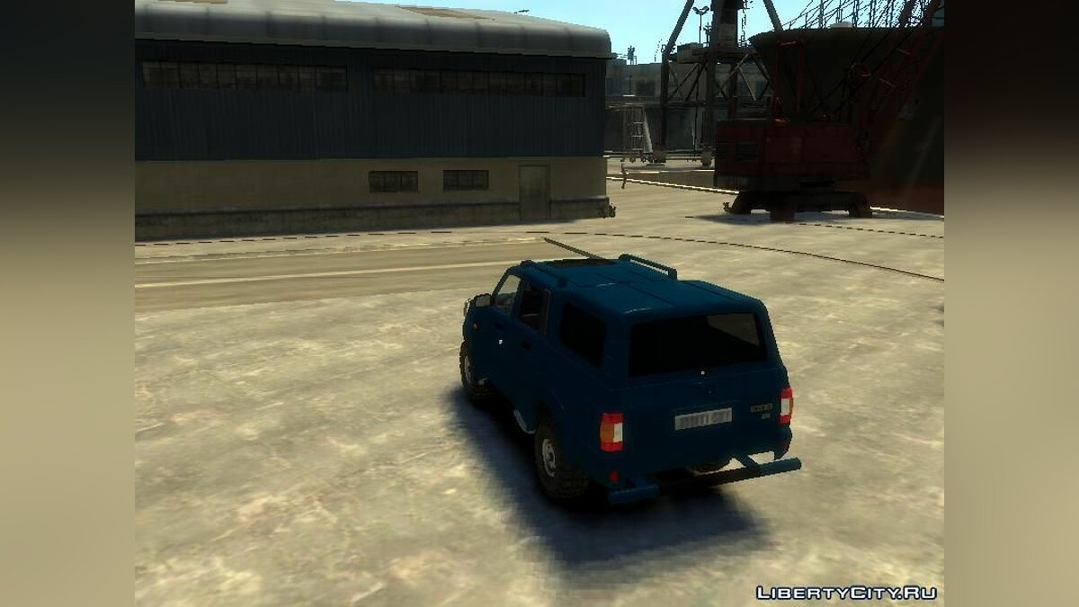 ������ ��� UAZ-23632 Patriot ��� GTA 4