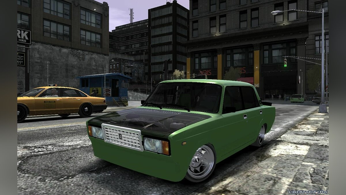 ������ ��� Lada 2107 Time Attack Racer ��� GTA 4