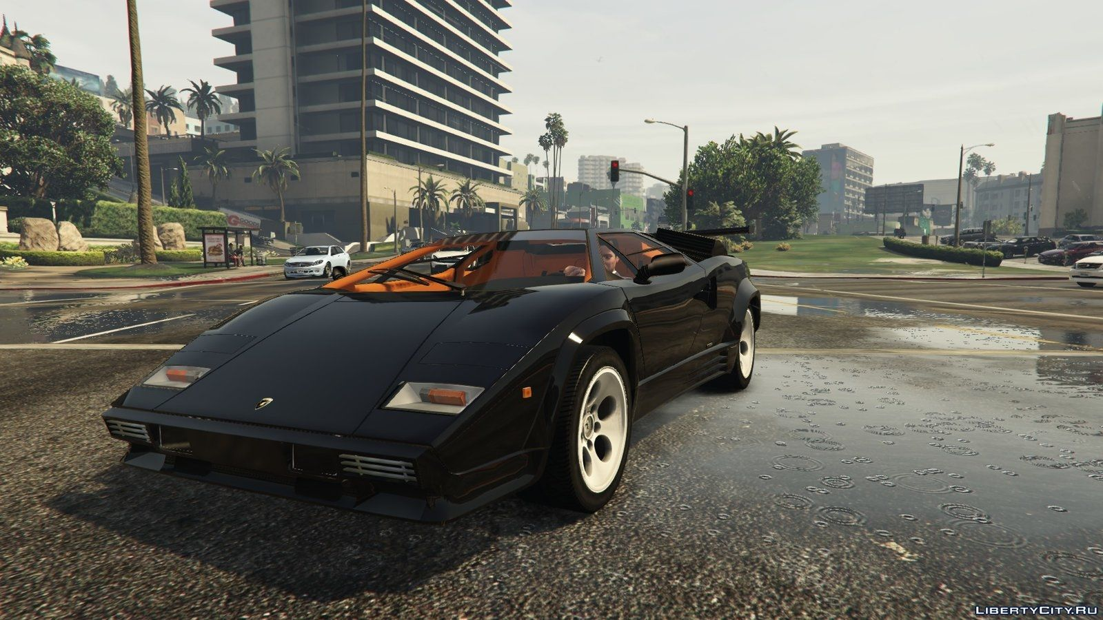 1988 lamborghini countach lp500 qv 1 2 gta 5. Black Bedroom Furniture Sets. Home Design Ideas