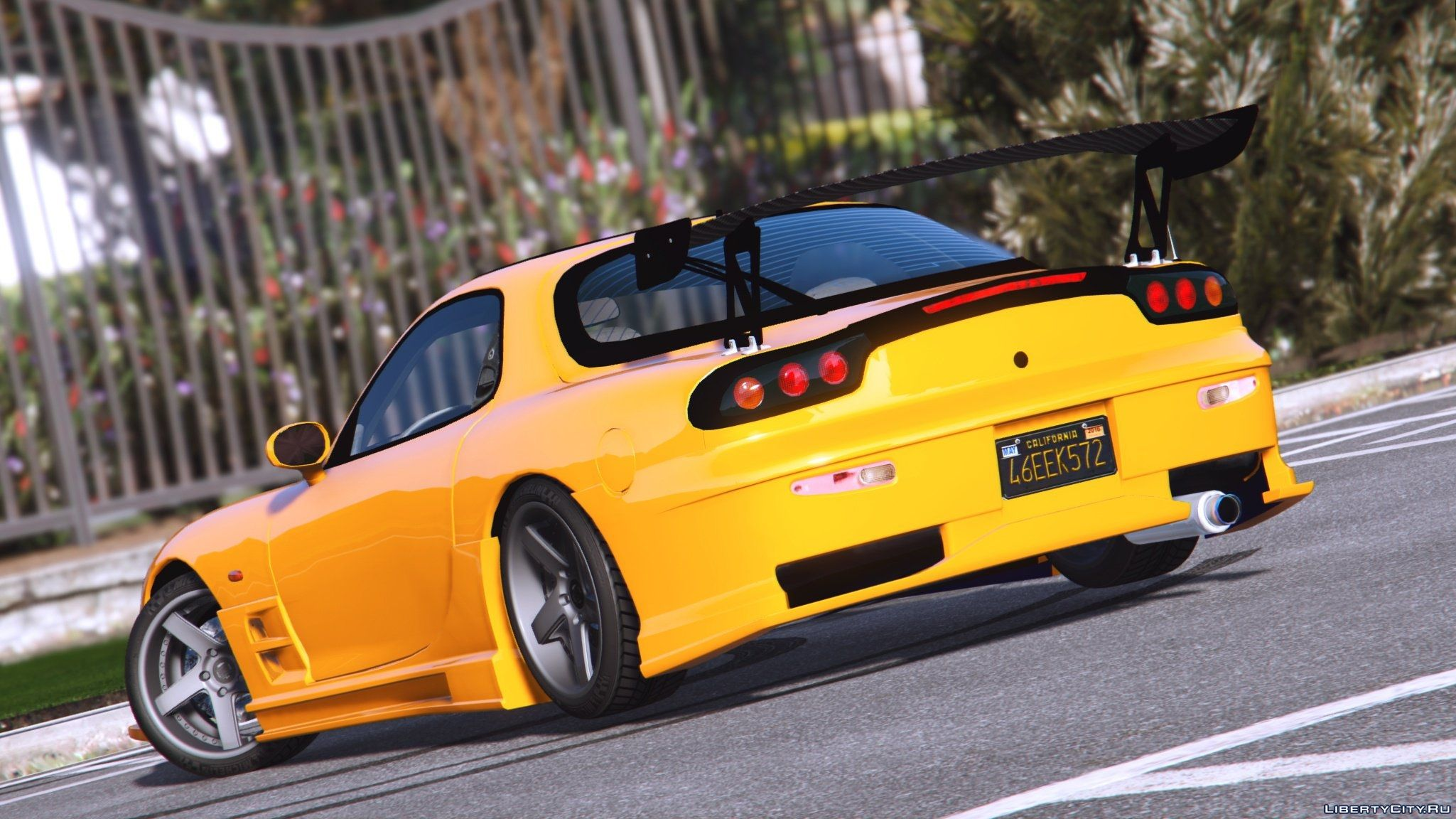 mazda rx7 fd3s add on tuning livery 0 7 gta 5. Black Bedroom Furniture Sets. Home Design Ideas