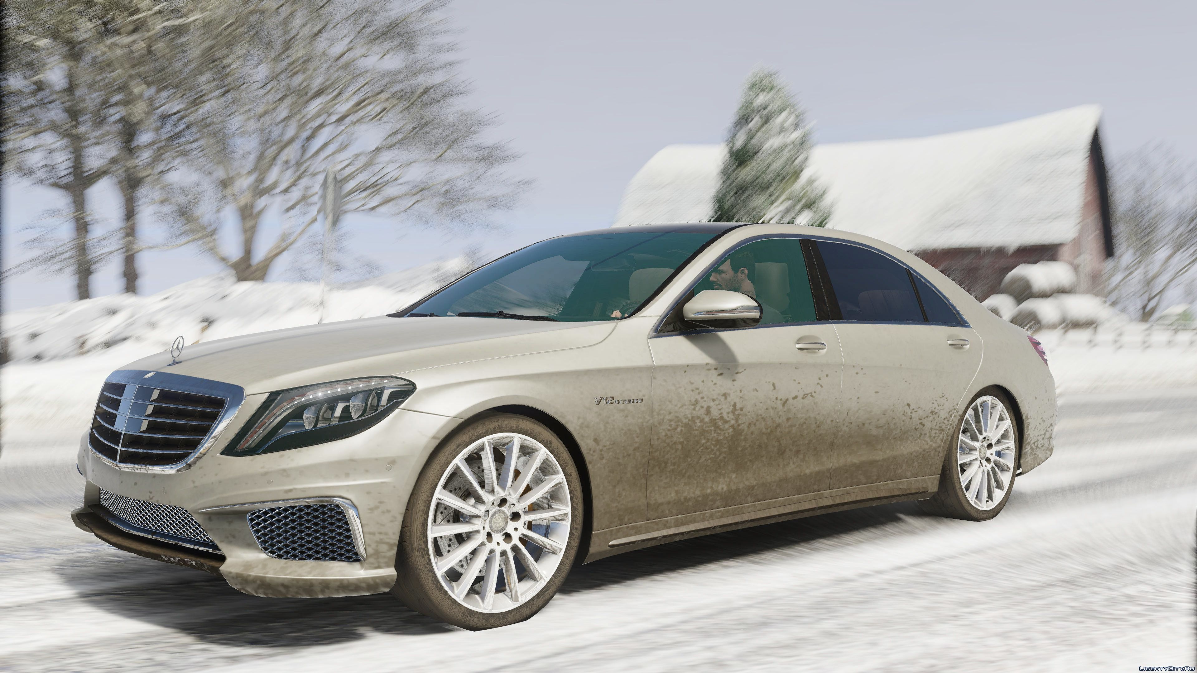 Mercedes benz s65 w222 add on replace 1 1 gta 5 for Mercedes benz add
