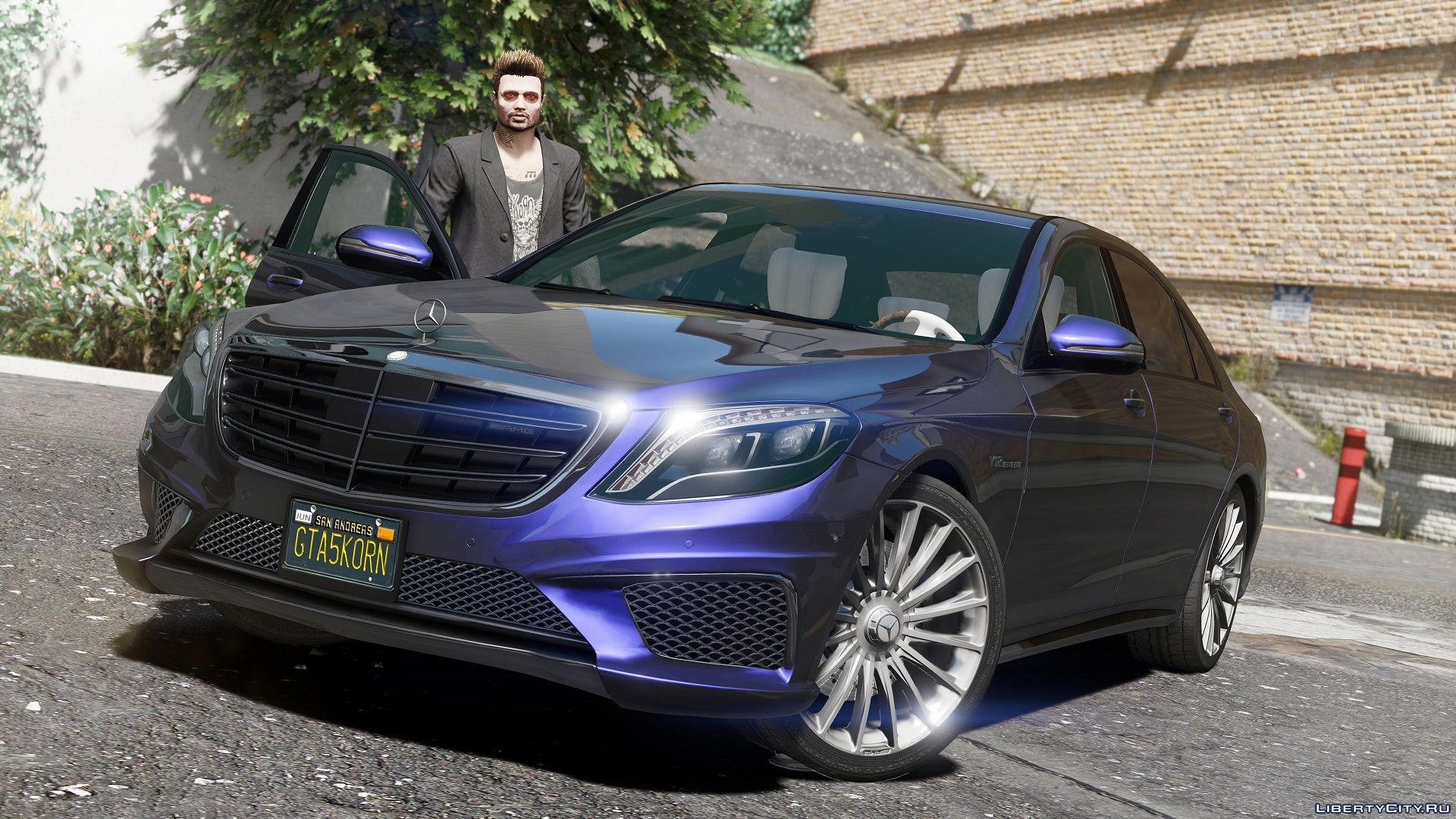 Mercedes benz s65 w222 add on replace 1 4 gta 5 for Mercedes benz add