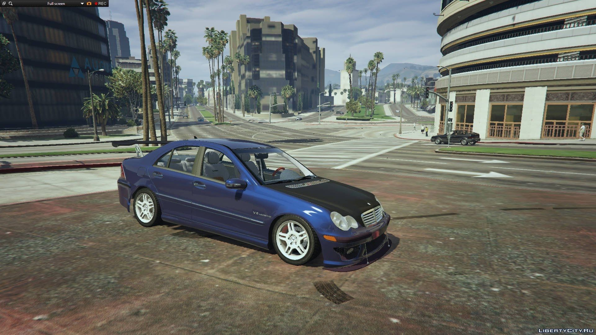 Mercedes benz c32 tuning add on replace final gta 5 for Mercedes benz add