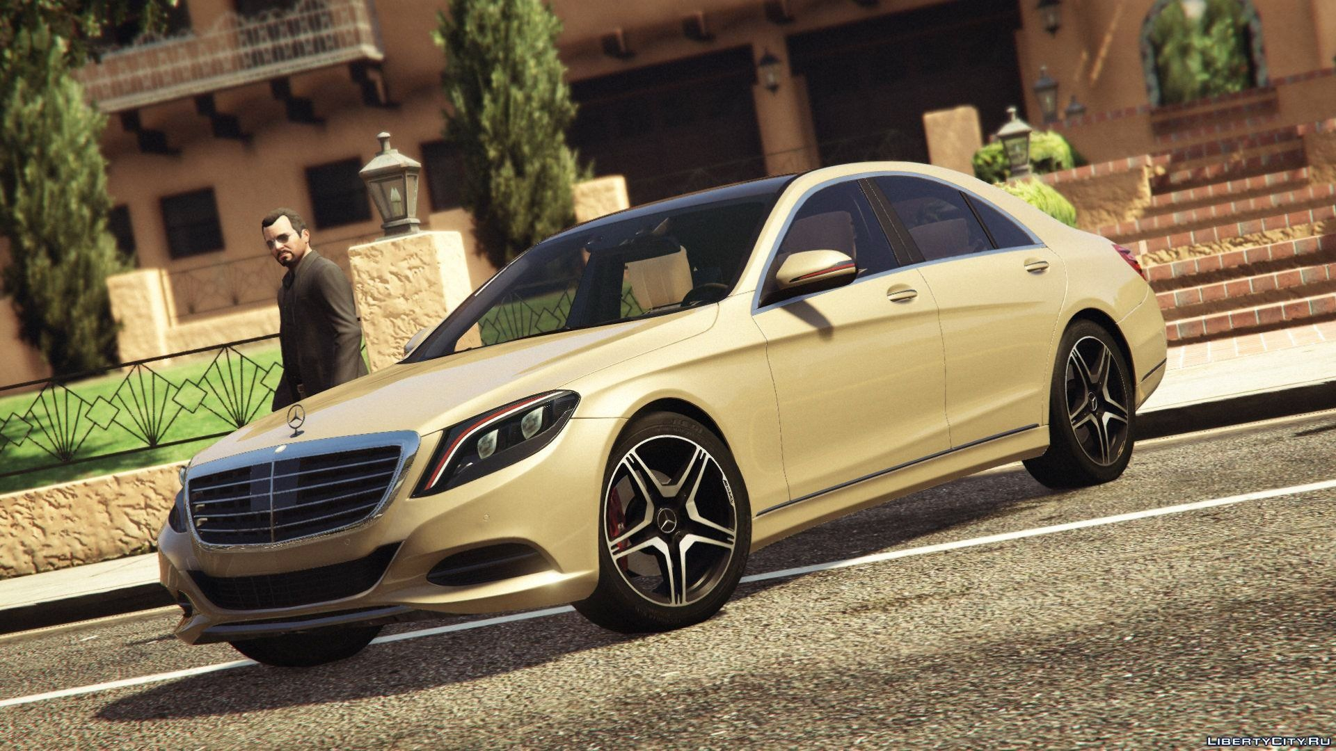 Mercedes benz s500 w222 add on replace v2 1 gta 5 for Mercedes benz add