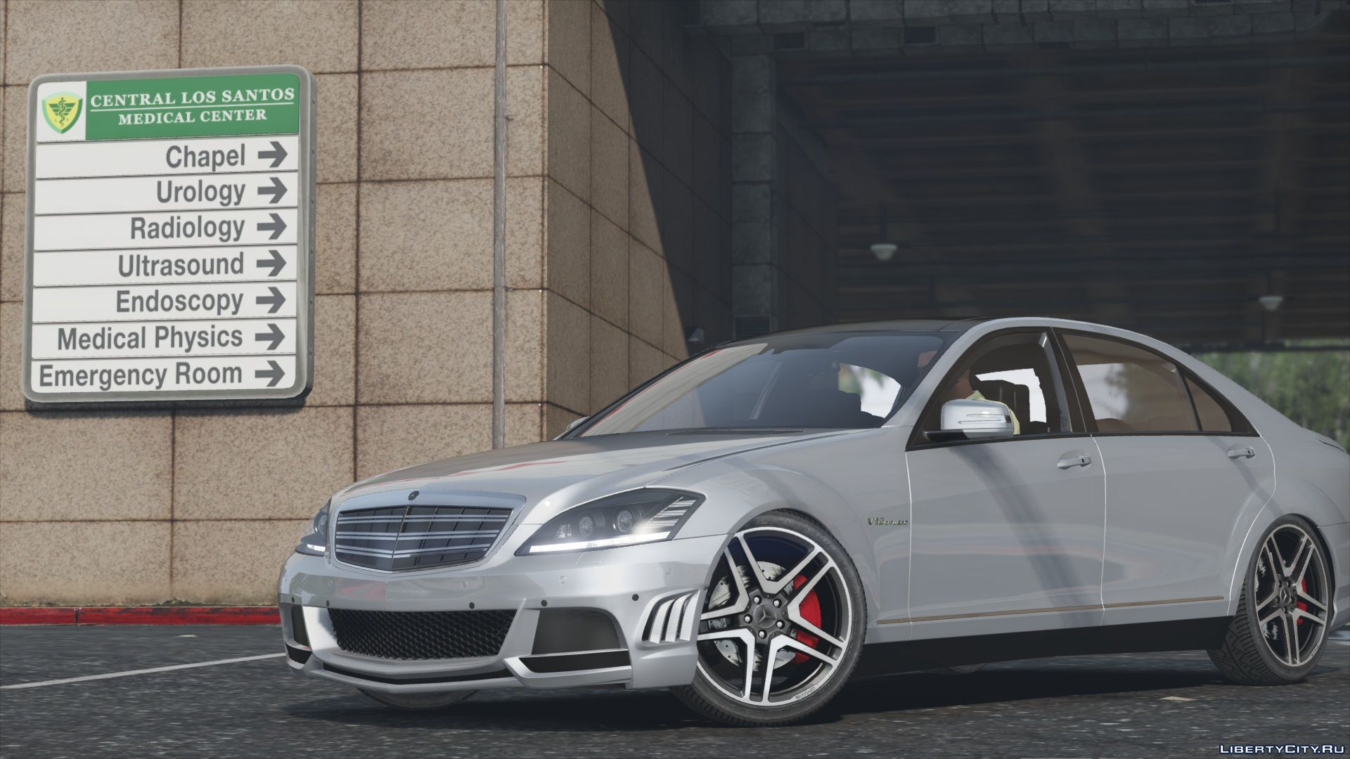 Mercedes benz s65 amg w221 add on replace 1 1 gta 5 for Mercedes benz amg s65