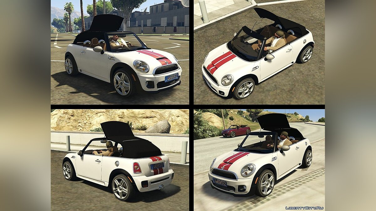 ������ Mini Mini JCW R57 Convertible (2in1) [Add-On | Tuning | Livery] 1.3 ��� GTA 5