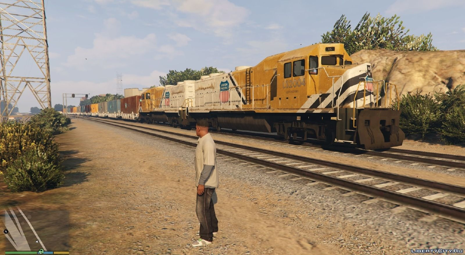 how to ride a train in gta 5