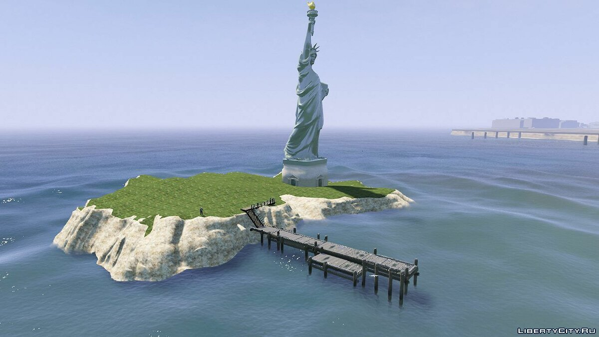 Новый объект Statue of Liberty [Add-On] 1.0 для GTA 5