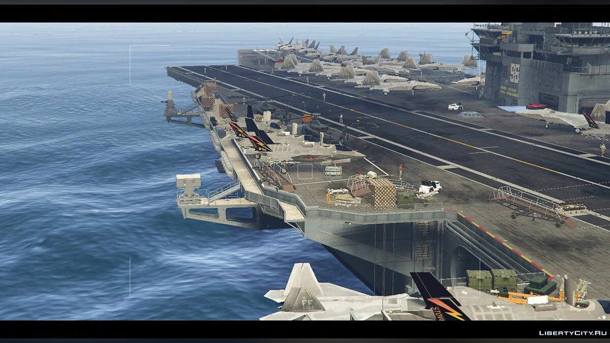 Новый объект US Navy Carrier - General Ford [Map Editor] для GTA 5