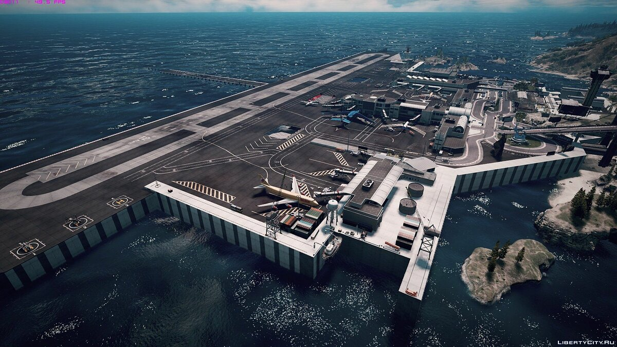 Новый объект Tataviam International Airport [Menyoo / Map Editor] 1.0 для GTA 5