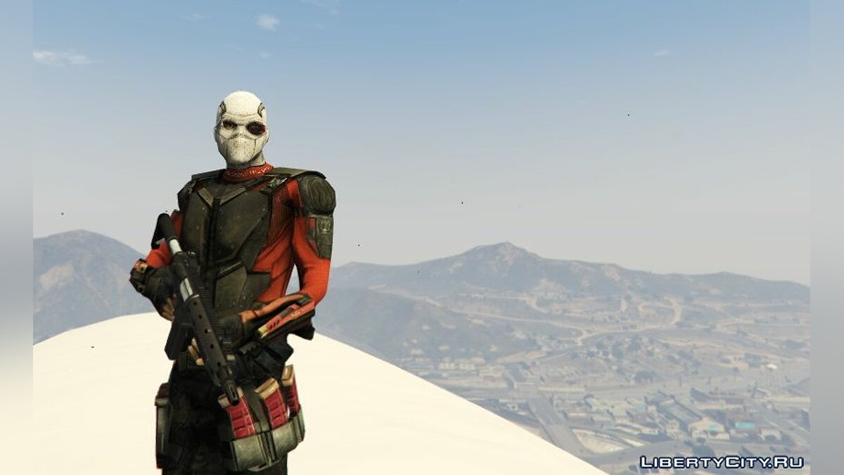 ����� �������� Deadshot (Suicide Squad) [Add-On Ped] 1.0 ��� GTA 5