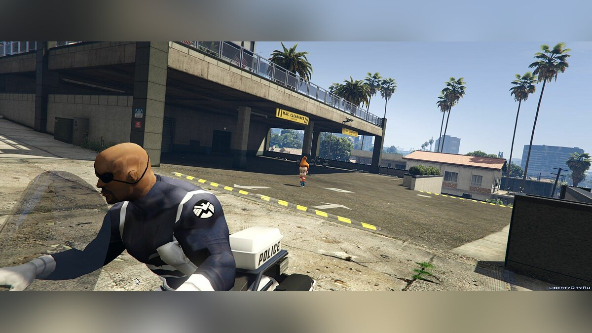 ����� �������� Nick Fury [Add-On Ped] ��� GTA 5
