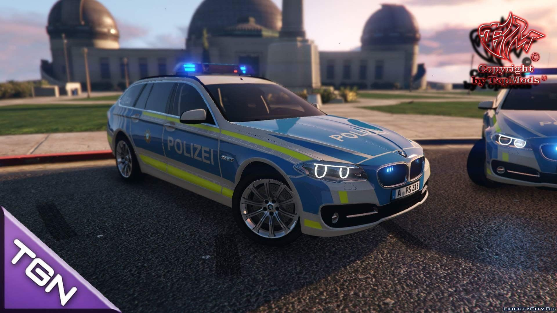 bmw 530d polizei bayern augsburg 2 0 gta 5. Black Bedroom Furniture Sets. Home Design Ideas
