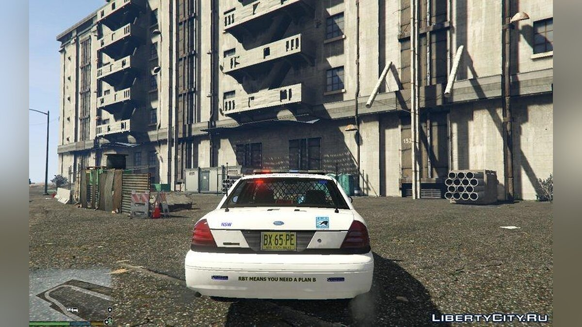 ������ ������� Ford Crown Victoria NSW Police Car ��� GTA 5