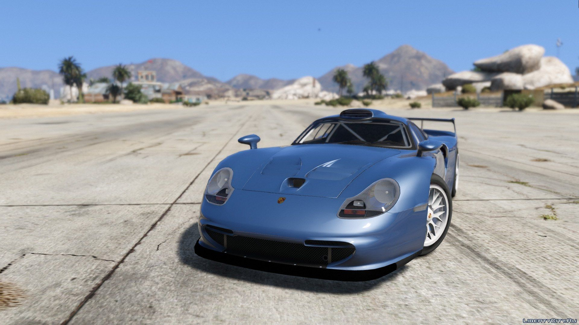 porsche 911 gt1 strassenversion add on gta 5. Black Bedroom Furniture Sets. Home Design Ideas