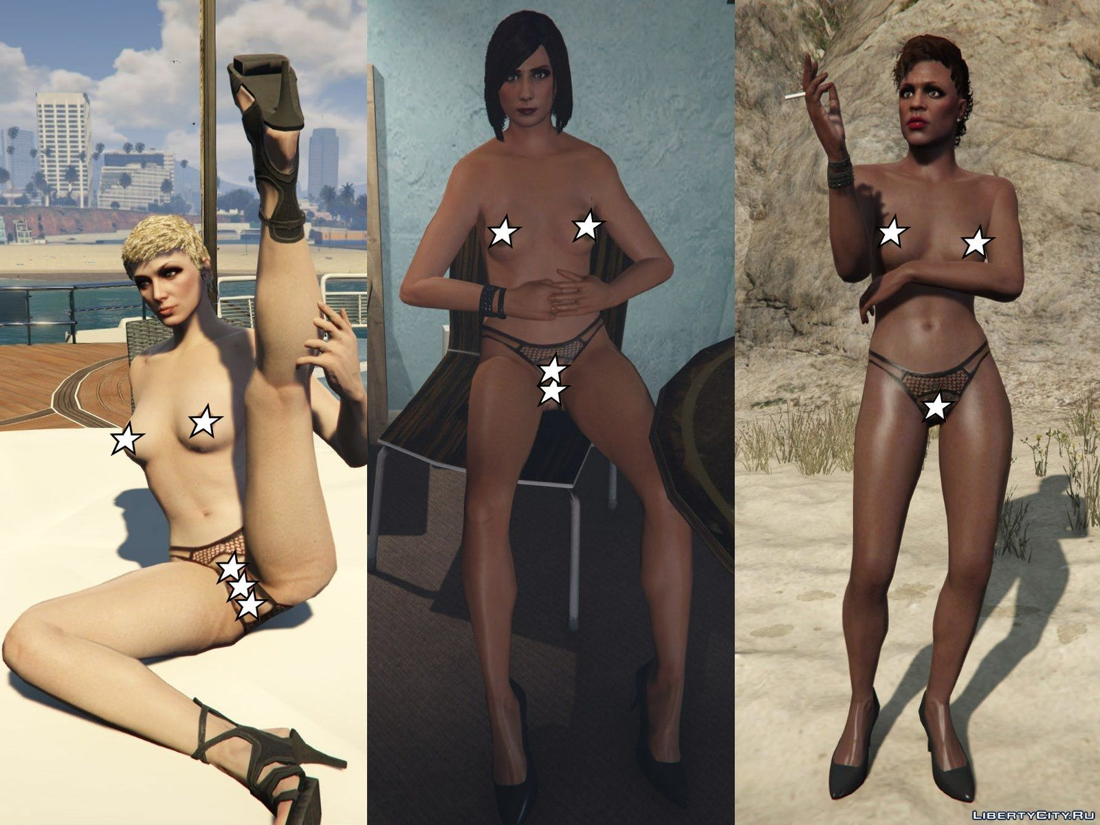 Gta 5 nude mods naked clips