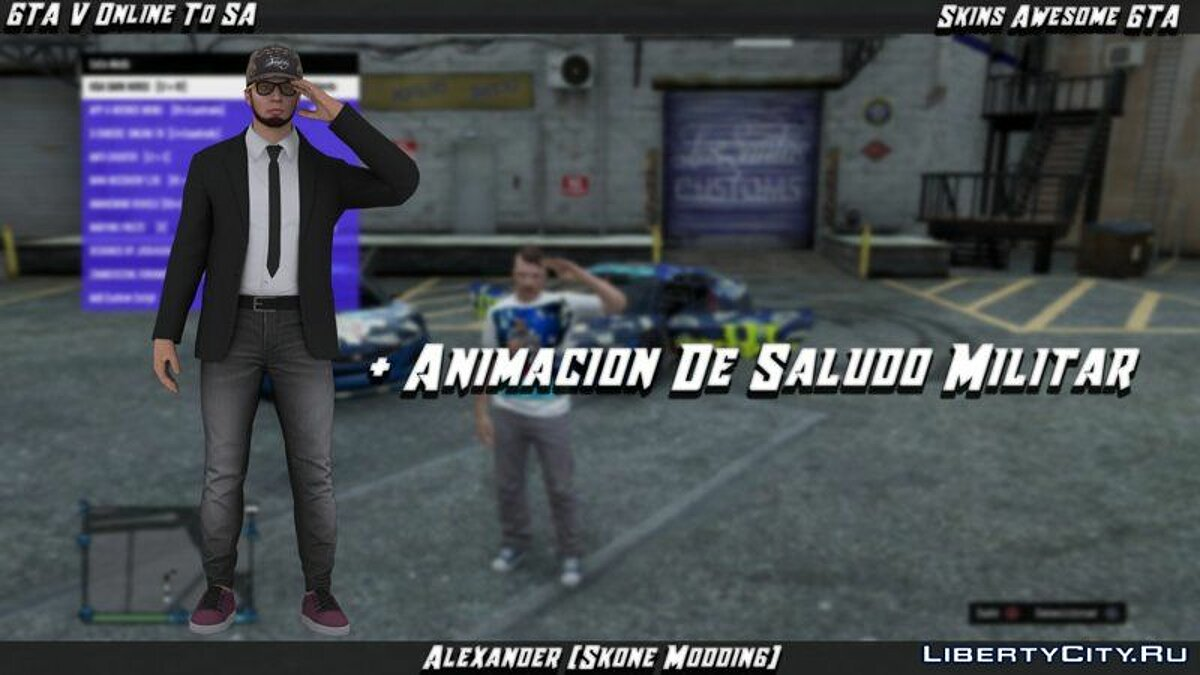 ��� �������� Military Greeting Mod GTA V To SA ��� GTA San Andreas