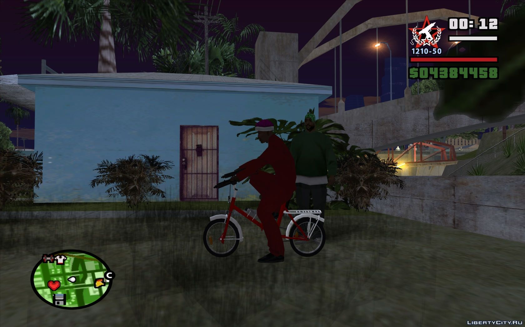 Lowrider bicycle is a new mod for gta: san andreas