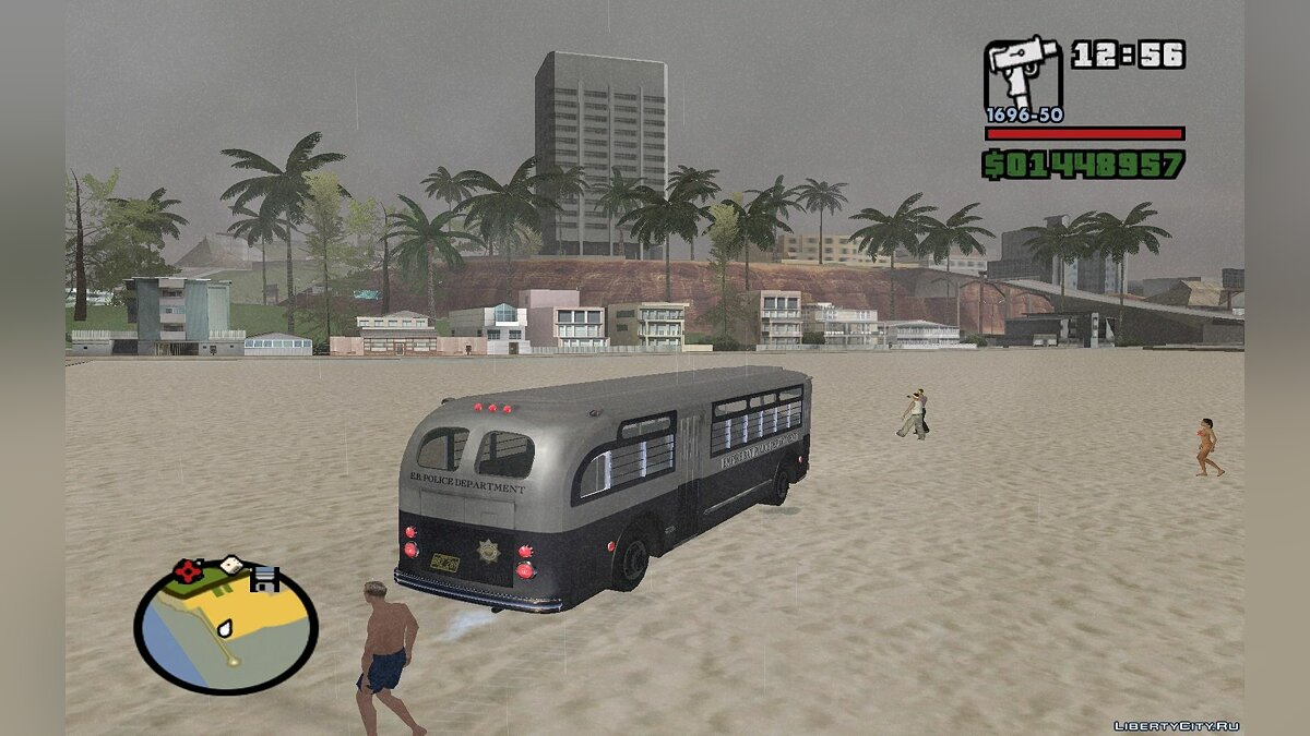 ������� Parry Bus Police Bus (Mafia 2)/ 1949 - 1953 GM �Old Look� TDH-3614 ��� GTA San Andreas