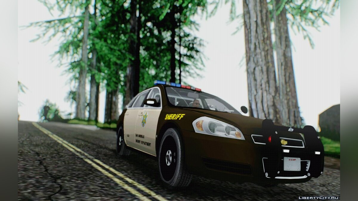 ������ Chevrolet Chevrolet Impala SASD Sheriff Department ��� GTA San Andreas