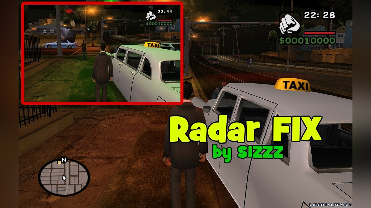 �������� ������ Radar FIX [DYOM] ��� GTA San Andreas